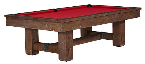 Brunswick Merrimack 8' Foot Table - Nutmeg