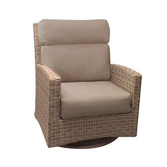 Bermuda Highback Swivel Glider