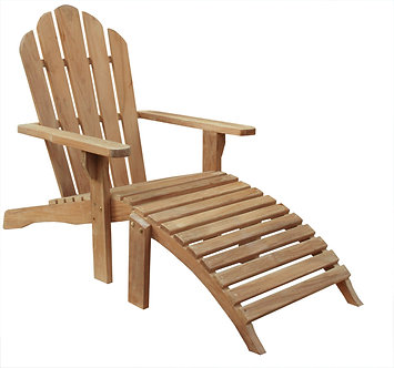 Traditional XL Adirondack Chair Set