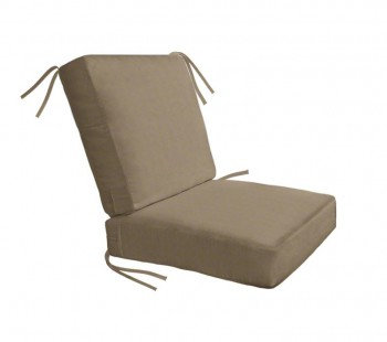Boxed and Welted Club Chair Cushion