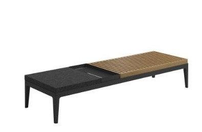 "Grid 59.5"" Rectangular Coffee Table"