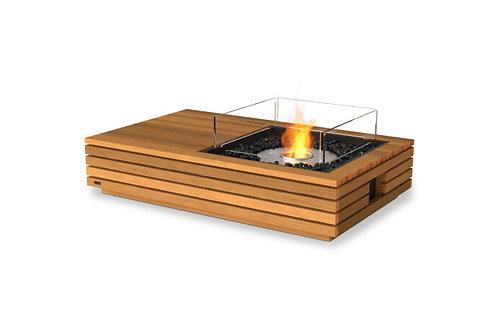 "Manhattan 50"" Teak Fire Table"
