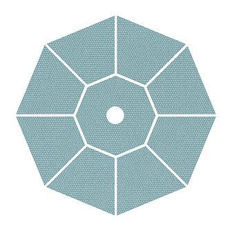 "Sunbrella Fabric - Minerals - 4""x 4"" Swatch"