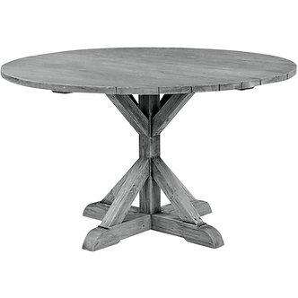 "Farm Style 59"" Rd Dining Table"