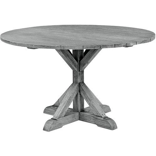 """Farm Style Table 59"""" Rnd"""