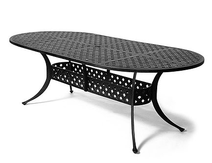 """Newport Oval Dining Table 84""""x42"""""""