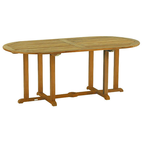 """Kingsley Bate Essex 72"""" Oval Dining Table"""