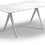 "Gloster Split Dining Table 67"" - Ceramic Top"