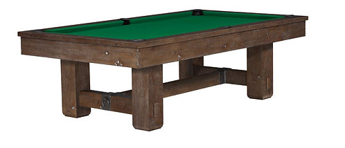 Merrimack 9' Foot Billiards Table - Nutmeg