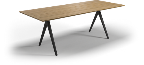 """Gloster Split 86.5"""" Dining Table"""