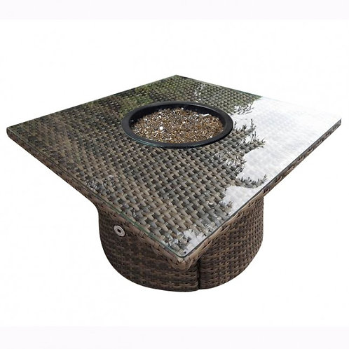 Wicker Fire pit, Fire Pit Wicker, North Cape International Bainbridge, NCI Bainbridge, North Cape International Cab