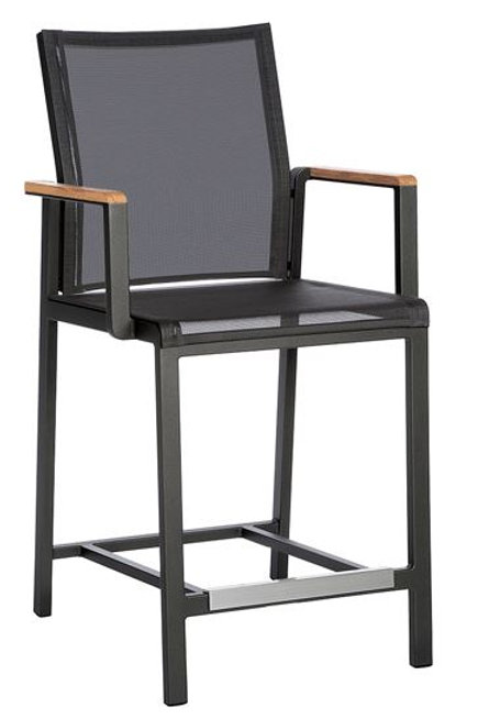 Barlow Tyrie Aura Counter Height Dining Sling Carver Chair