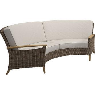 Pepper Marsh Curved Sofa