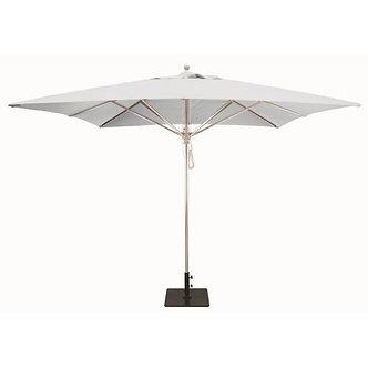 Market 10ft Sq Umbrella Silver