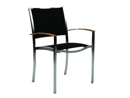 Kingsley Tiburon Stacking Arm Chair