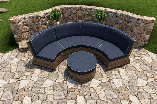 Dover Curved Sectional