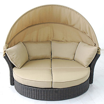 Antigua Wicker Daybed
