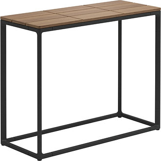 "Maya 30"" x 12"" Low Console Table Teak"