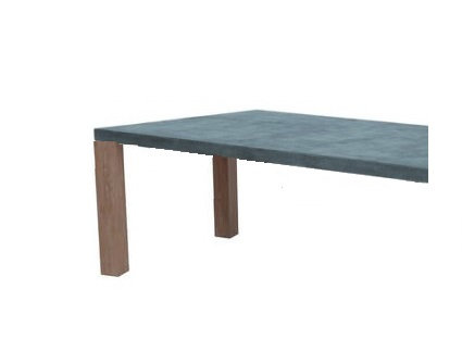 "Tuscany 51"" Galvanized Coffee Table"