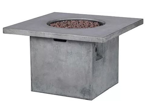 "Grand Canyon 38"" Sq Firepit w/ Lava Rocks"