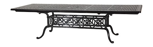 """Grand Terrace 114""""-74"""" Extending Dining Table"""