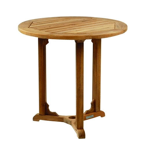 "Kingsley Bate Essex 30"" Round Bistro Table"