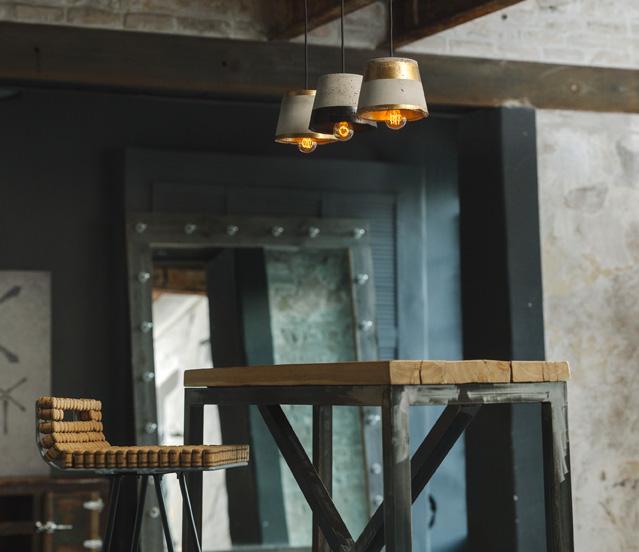 Abrau bar stool & OClamps
