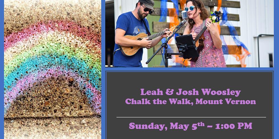 Leah & Josh Woosley @ Chalk The Walk
