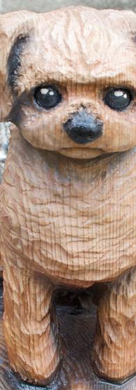 ペット彫刻