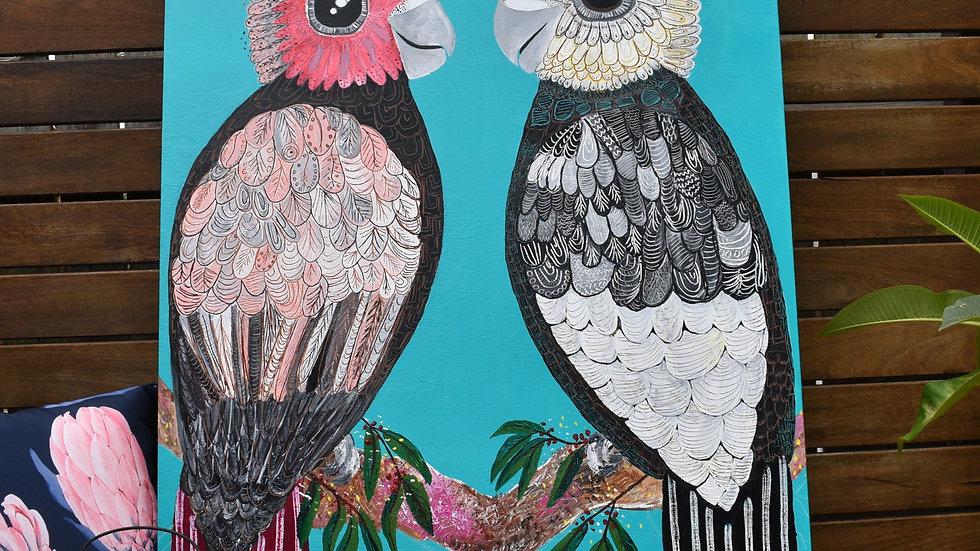 LOVEBIRDS Prints