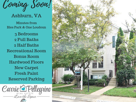 Coming Soon in Ashburn!