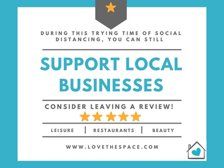 Support Local Small Businesses!
