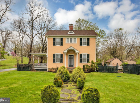 Just Listed in Historic Aldie!