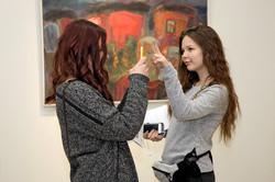 Посетители галереи