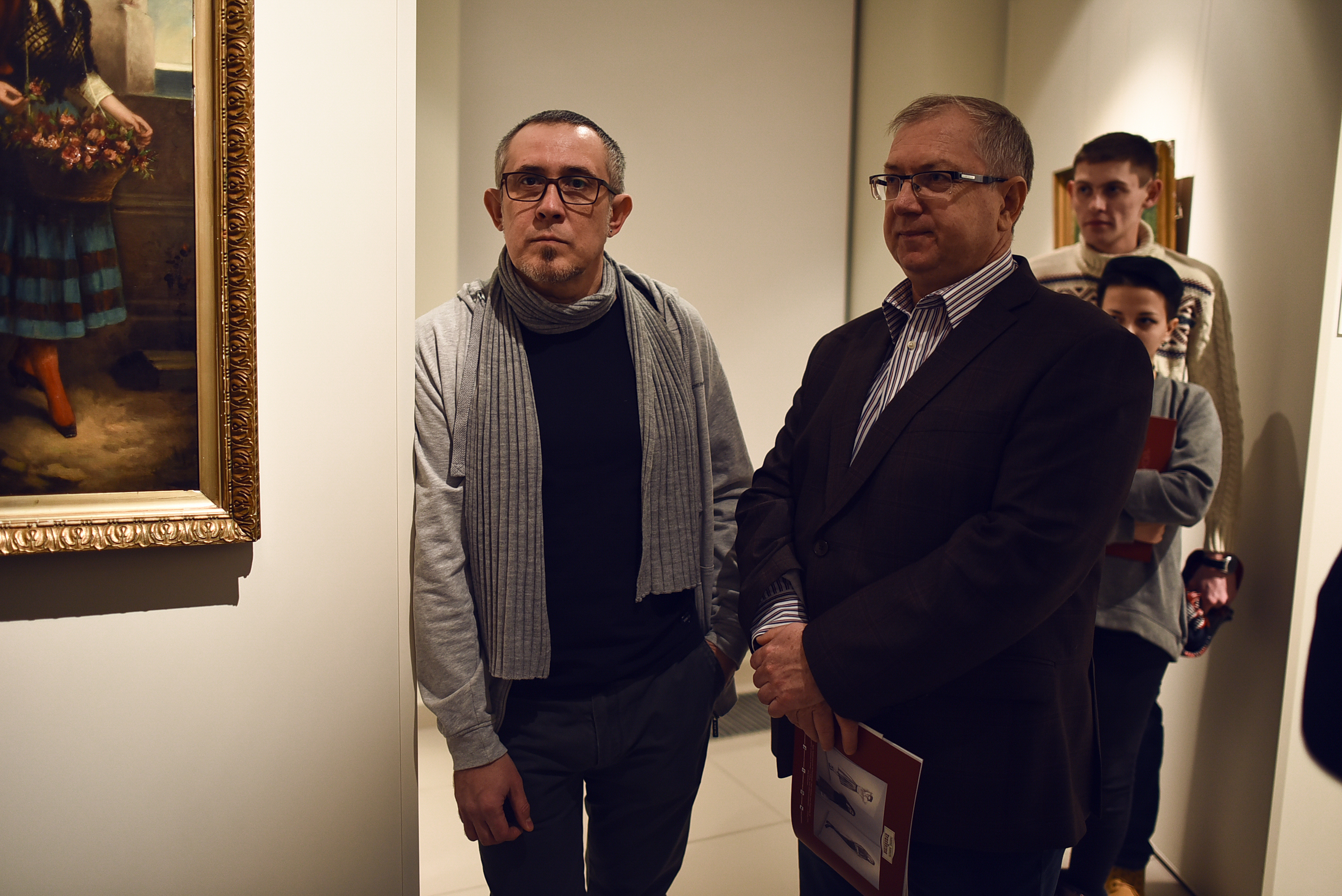 Виктор Бартенев и Дмитрий Клюшин