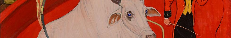 Прыжок священной коровы через огненное к