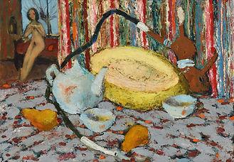 Натюрморт с кальяном, 1999г. 45х64.jpg