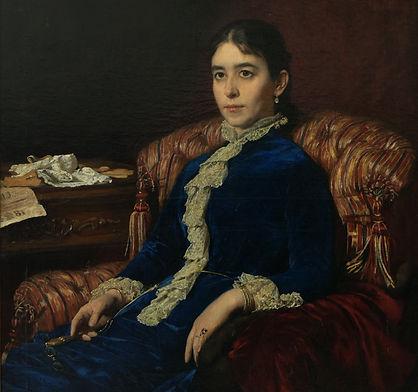 925 Г.М.Манизер  Портрет императрицы Мар