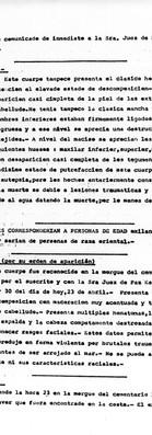 Dirección Nacional de Policía Técnica, Departamento de Identificación Criminal, Abril 25 de 1976, al Subcomisario Julio R. Bossio. Of. Principal Héctor Galbán. Archivo de la Comisión para la Paz – Carpetas NN.