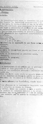 Prefectura Nacional Naval. División Información. Sección Técnica. Of. Laboratorio. Montevideo. 5 de mayo de 1976. Archivo de la Secretaría de Derechos Humanos para el Pasado Reciente.