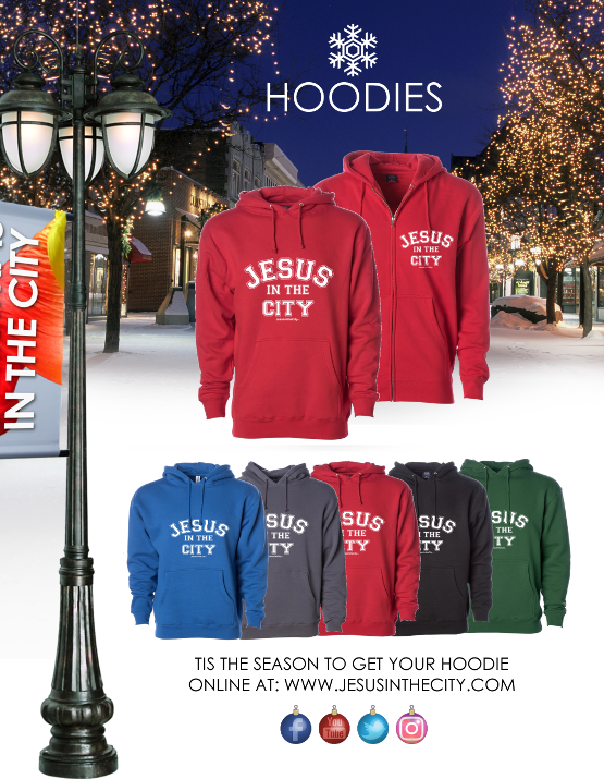 2019 Christmas in the City - Hoodie Prom