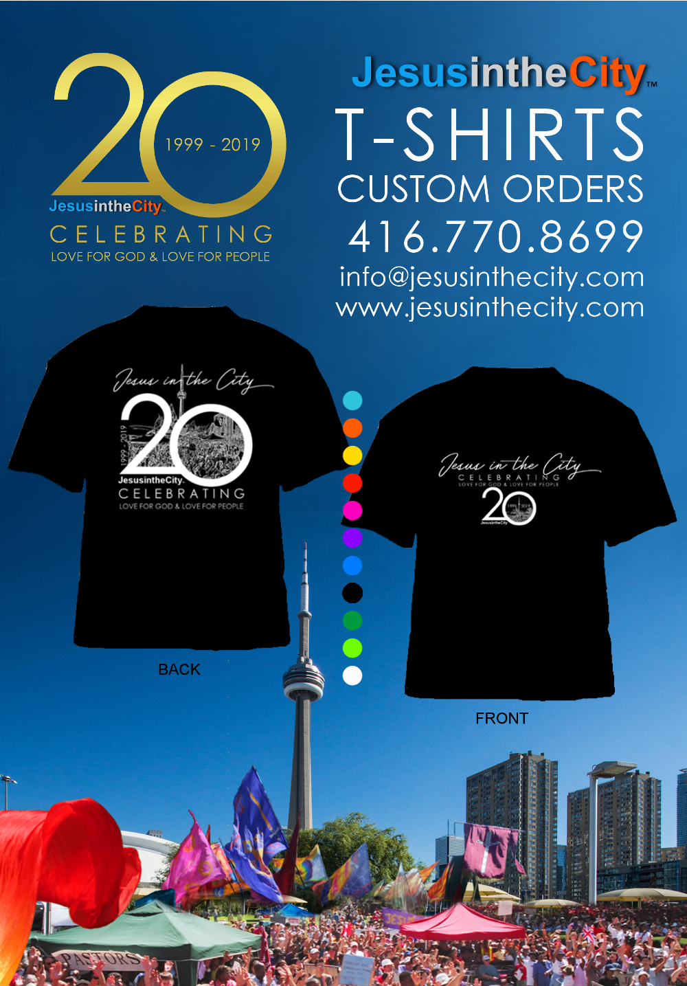 2019 T-shirt Promotional