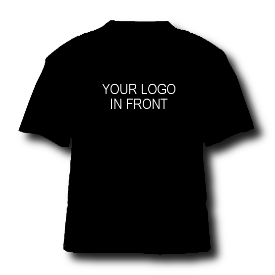 YOUR LOGO in front