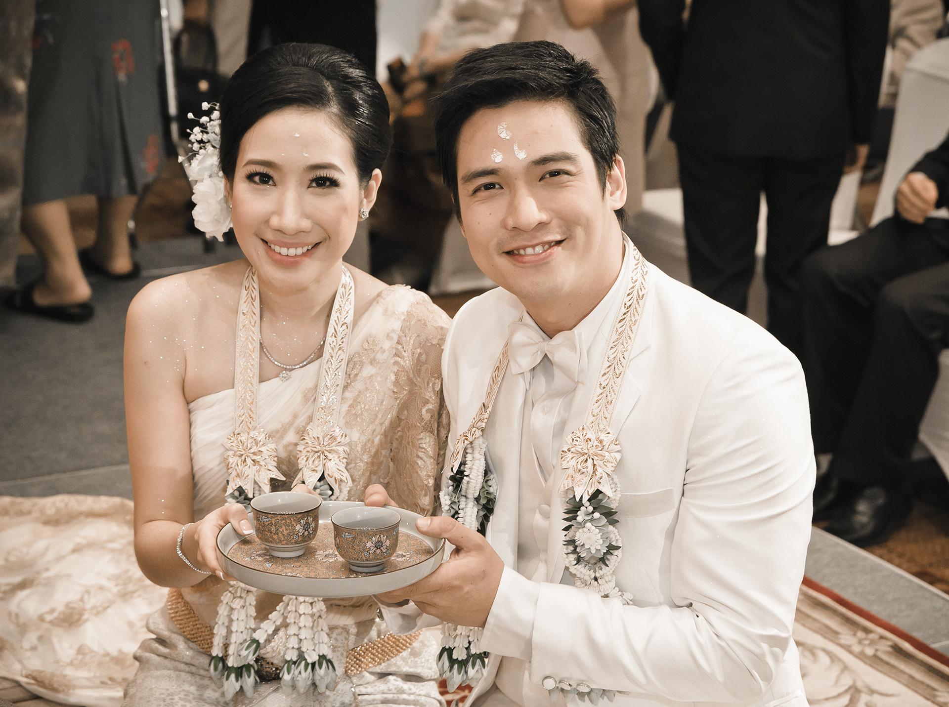 Asiatische Hochzeitsfotos
