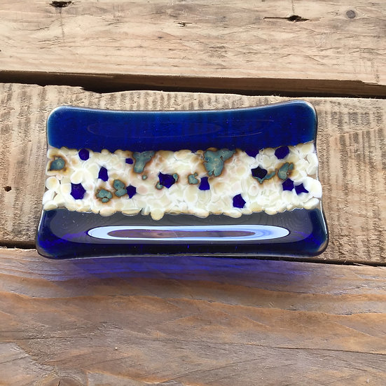 Blue Jelly Dish