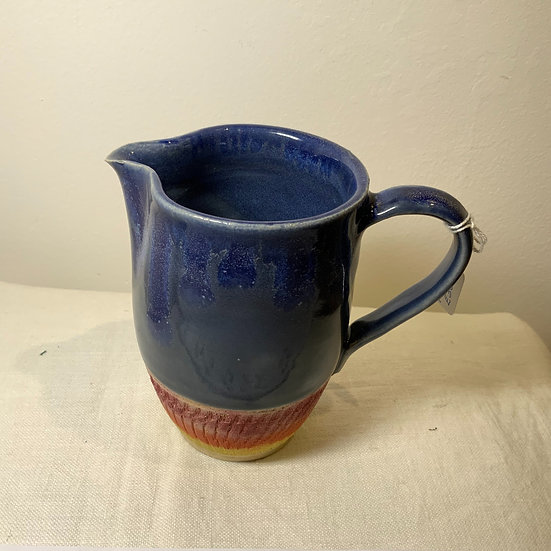 Stonewear Multicolour Chattering Blue Jug