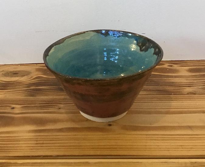 Pink Brown/Blue Bowl