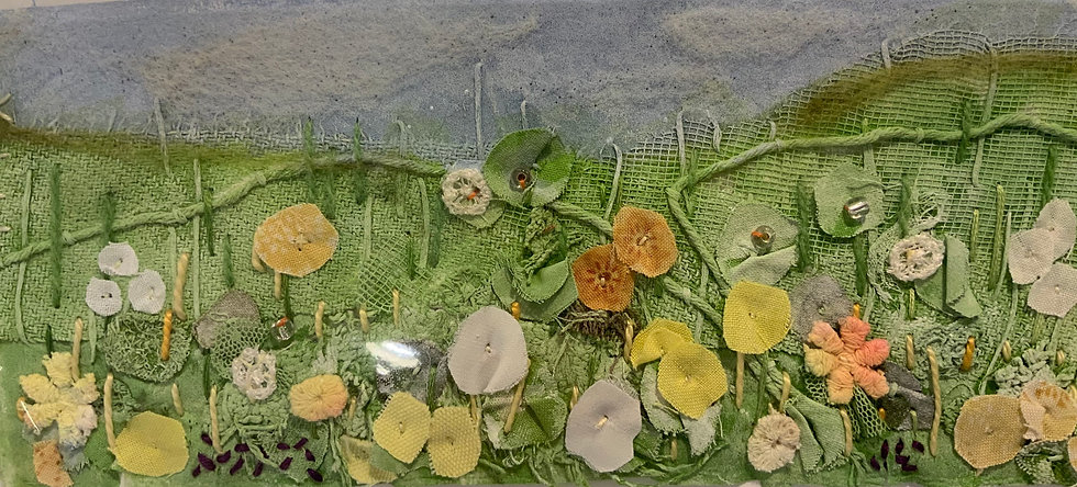 Yvonne Wolsey Spring Hedgerow