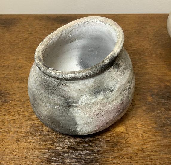 Limited Edition Smoke Fired Meditation Bowl