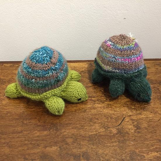 Knitted Tortoise